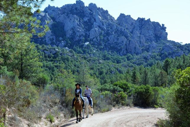 Reiten im wilden Norden Sardiniens
